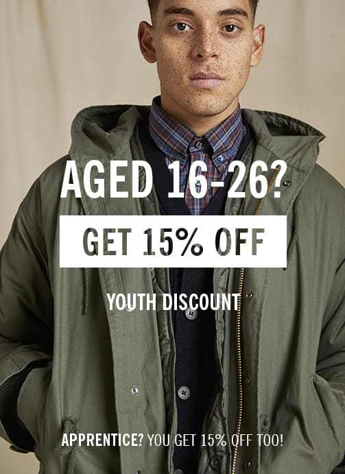 Youth Student Discount