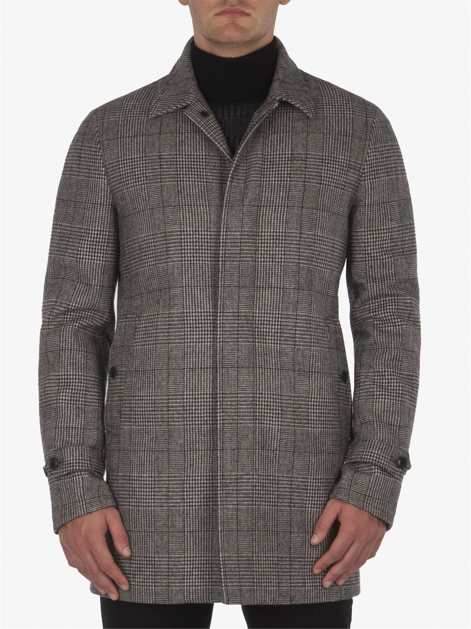 PRINCE OF WALES CAR COAT