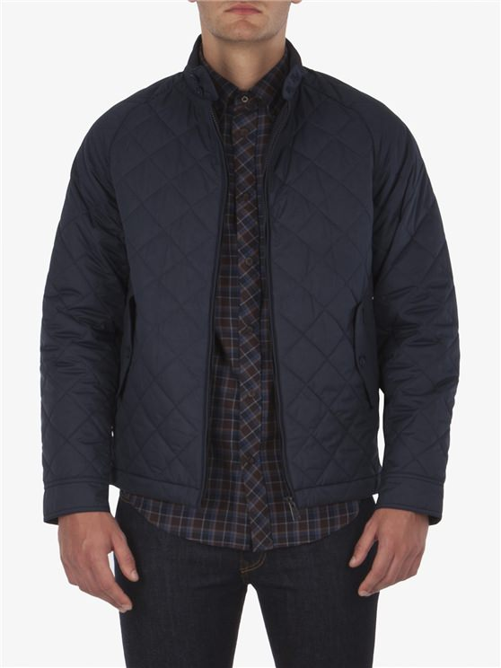 QUILTED HARRINGTON