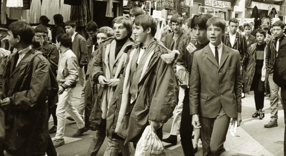 Image result for mods carnaby street 60s